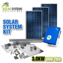 Solar Systems Philippines_Grid Tie_3.0kW