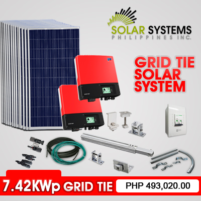7 42kwp Grid Tie Solar System Solar Systems Philippines